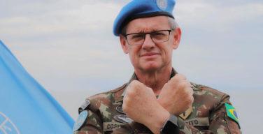 Generais brasileiros trocam cargo de comando na MONUSCO