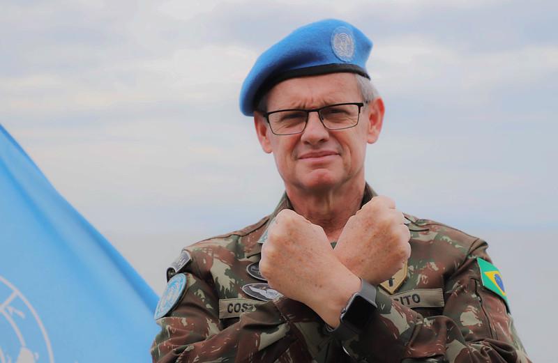 Brazilian Generals Change Command at MONUSCO