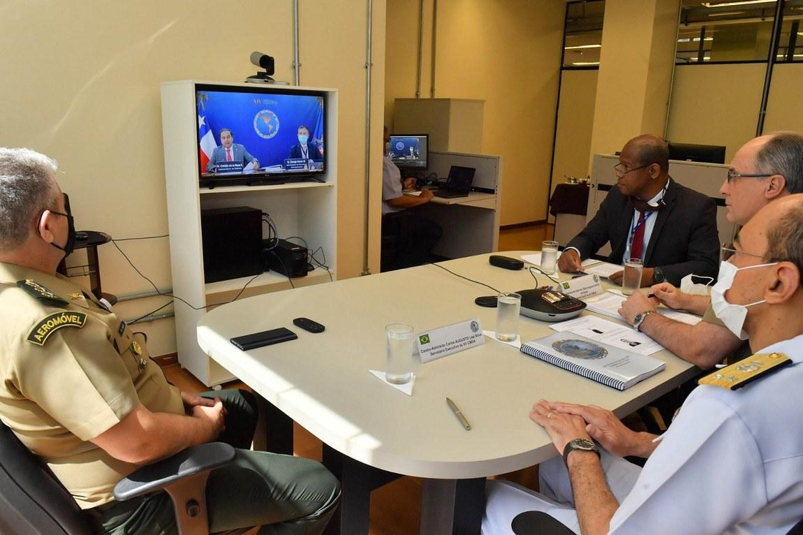 Brasil asume la presidencia de la XV Conferencia de Ministros de Defensa de las Américas