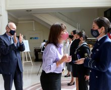 Chilean Ministry of Defense Recognizes 6 Outstanding Military Women