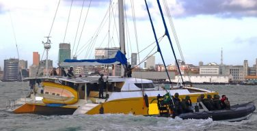 Brazilian Navy and Federal Police Intercept Vessel Carrying Cocaine