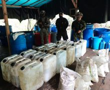 Colombian Military Forces Destroy Mega Cocaine Lab in Tumaco