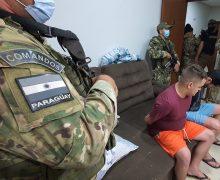 Paraguai: agentes antidrogas prendem quatro membros do PCC