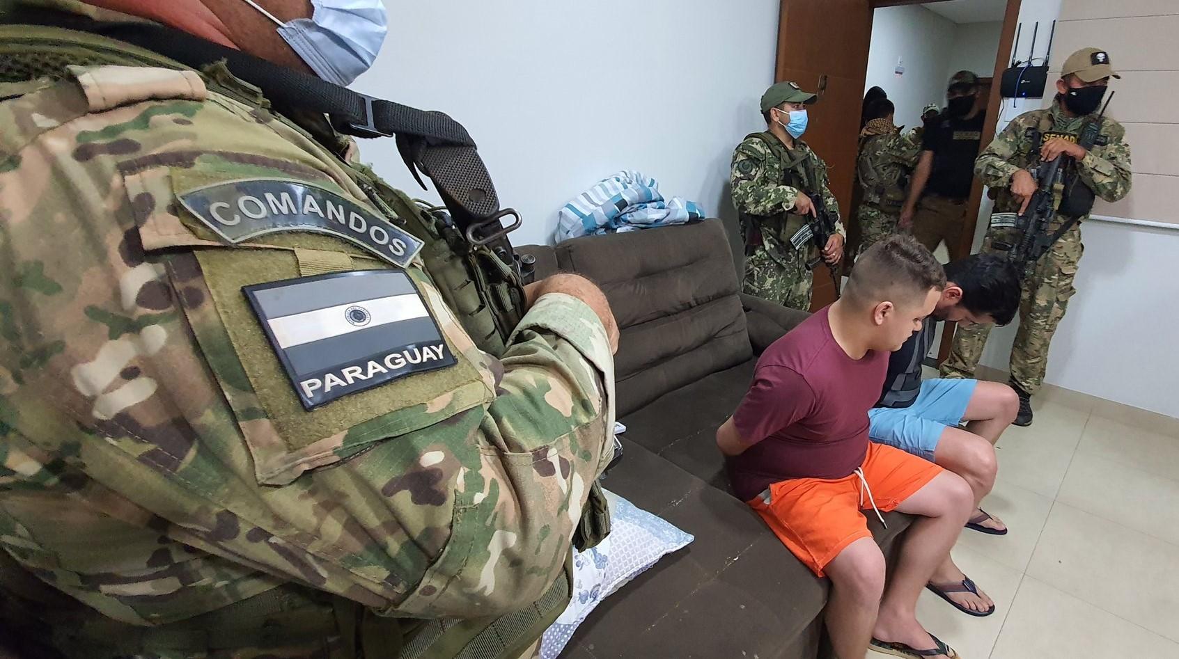 Paraguay: Anti-drug Agents Arrest Four PCC Members