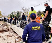 Colombian Military Committed to Reconstruction Efforts in Islands Hit by Hurricane Iota