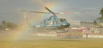 Guyana Receives Bell 412 Helicopter to Improve Air Security
