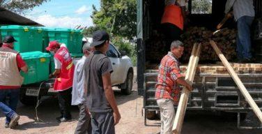JTF-Bravo continua apoiando as comunidades hondurenhas devastadas pelos furacões Eta e Iota
