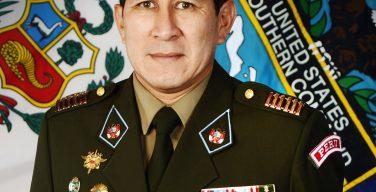 Conselheiro militar do Peru estreita vínculos com SOUTHCOM