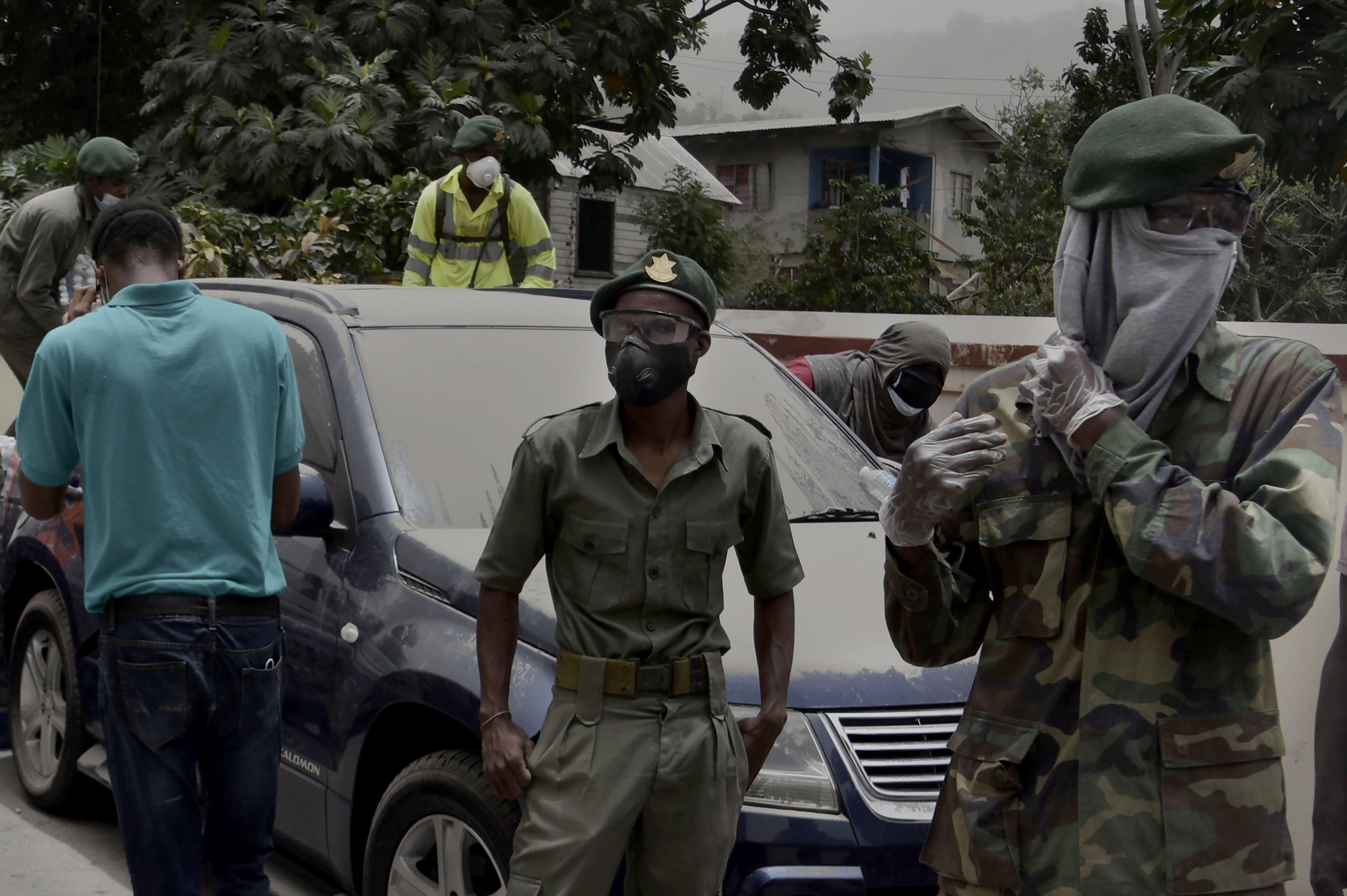 Planificación, preparación y ejecución: EE. UU. apoya respuesta a erupción del volcán San Vicente