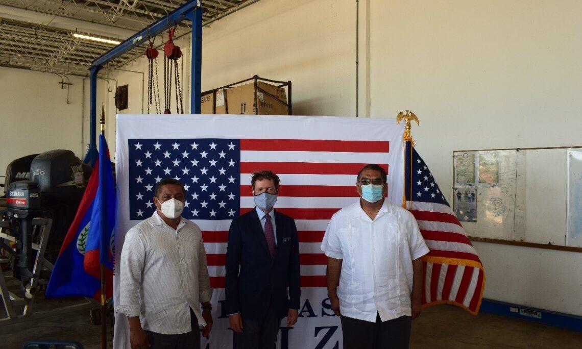 Governo dos EUA fornece equipamentos marítimos e táticos essenciais para a Guarda Costeira de Belize