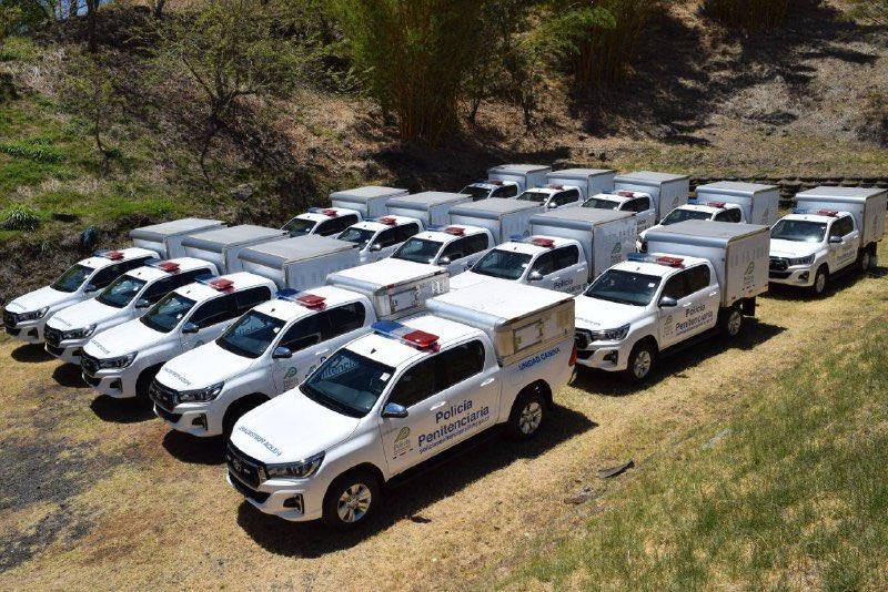 Ministério da Justiça da Costa Rica recebe doação de veículos