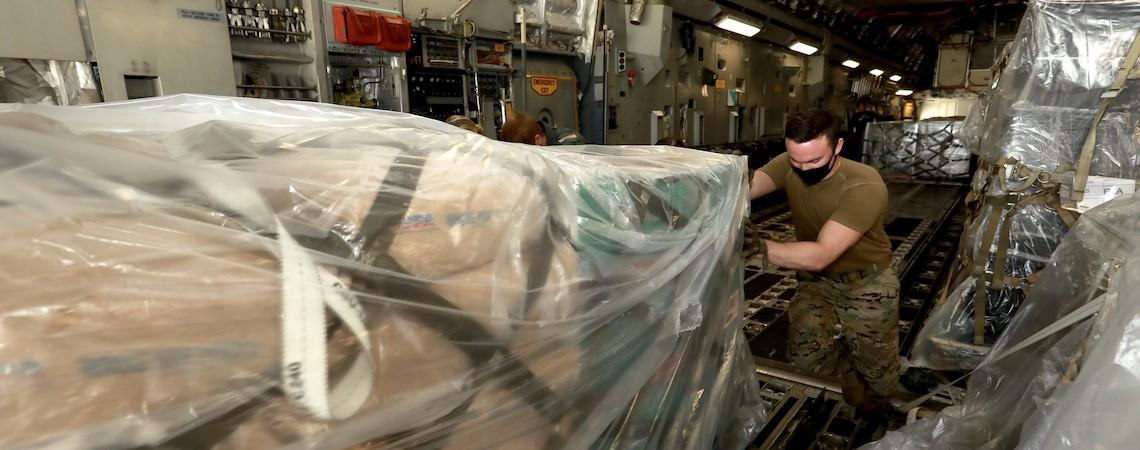 Comando Sul dos EUA entregou mais de US$ 400.000 em ajuda humanitária a El Salvador desde o início da pandemia