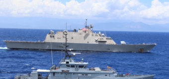 USS Wichita and Jamaican Forces Conduct Live-Fire Exercise