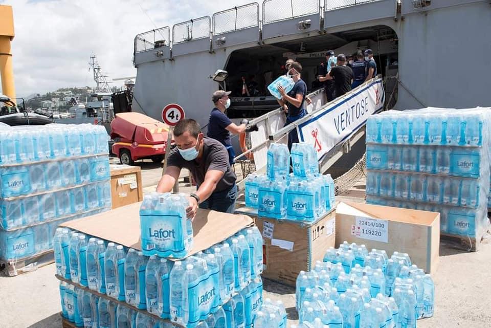 Países de la región apoyan a San Vicente tras la emergencia del volcán