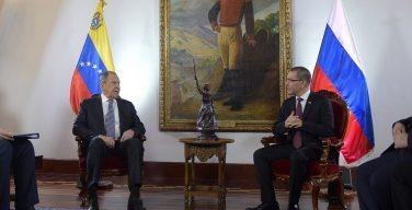 Rusia reafirma su respaldo a Venezuela con firma de acuerdos