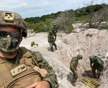 US Marine Take Part in Exchange in Brazil
