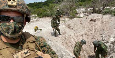 Fuzileiro Naval dos EUA realiza intercâmbio no Brasil