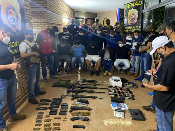 Members of the Largest Brazilian Narcotrafficking Faction Arrested at the Border with Paraguay