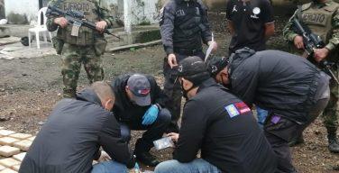 Fuerzas colombianas incautan 3,4 toneladas de droga en dos operaciones