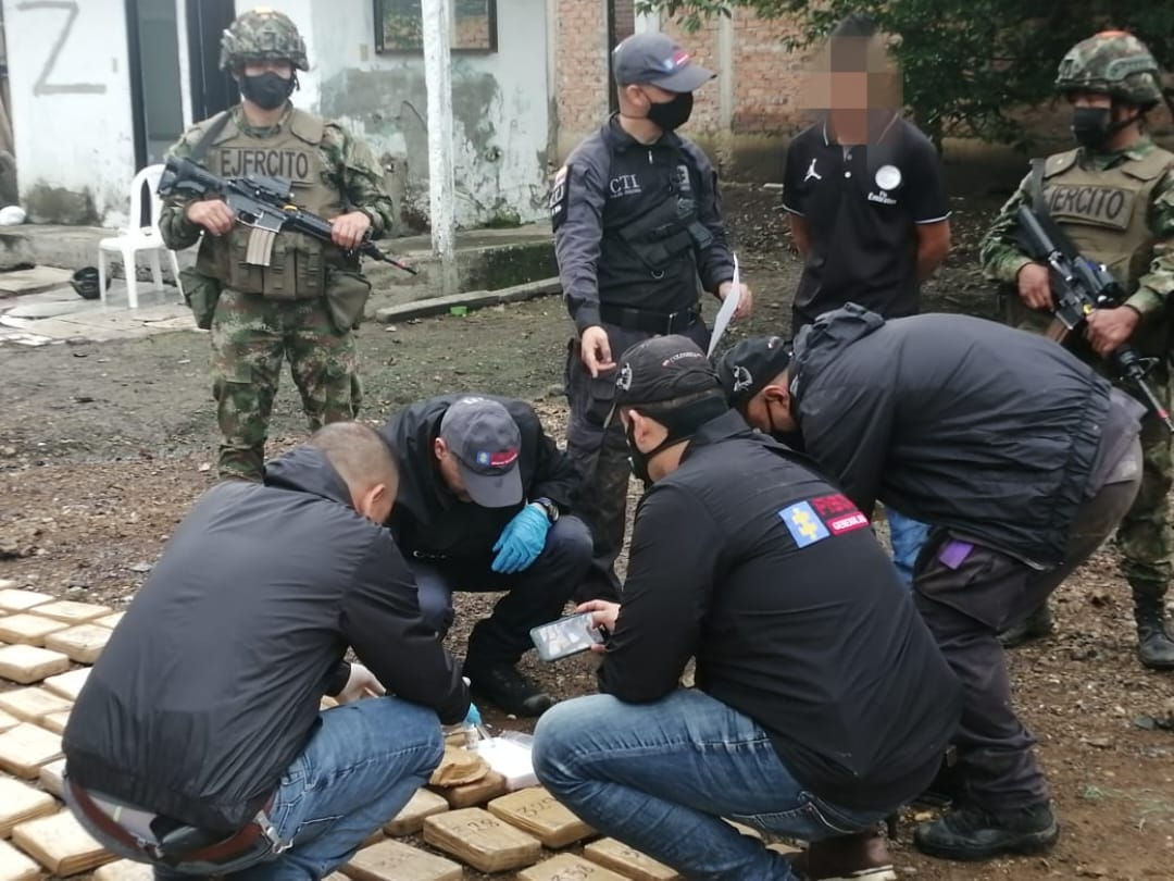 Colombian Forces Seize 3.4 Tons of Drugs in Two Operations