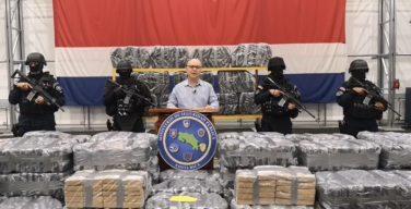 Costa Rica desarticula banda narcotraficante y decomisa 5,5 toneladas de droga
