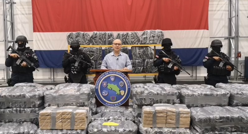Costa Rica Dismantles Narcotrafficking Gang, Seizes 5.5 Tons of Drugs