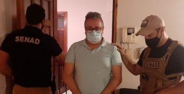 Paraguay: agentes antinarcóticos detienen a piloto buscado por los EE. UU.