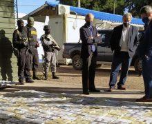 Uruguay: golpe al narcotráfico con el decomiso de 1,5 toneladas de cocaína