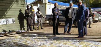 Uruguai: golpe ao narcotráfico com a apreensão de 1,5 tonelada de cocaína