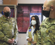 JTF-Bravo Donates Foggers to Fight Dengue in La Paz, Honduras
