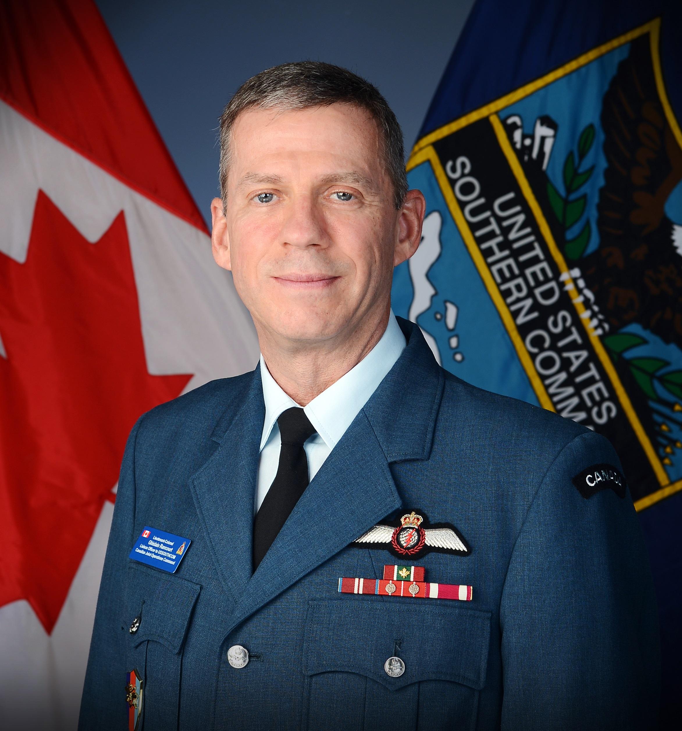 Asesor militar canadiense habla sobre la importancia del programa de oficiales de enlace de SOUTHCOM