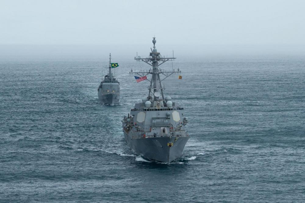 4th Fleet Commander Conducts Maritime Staff Talks with Brazilian Navy