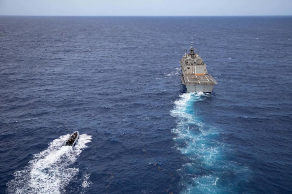 Estados Unidos e República Dominicana realizam exercício bilateral de interdição no Caribe