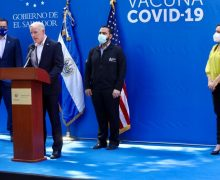US Government Donates Additional $2 Million to Combat COVID-19 in El Salvador