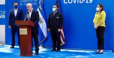 Gobierno de EE. UU. dona USD 2 millones adicionales para combatir al COVID-19 en El Salvador