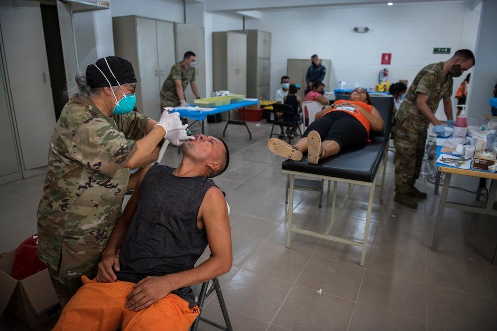 Resolute Sentinel 21 conclui em El Salvador para a equipe médica da JTF-Bravo