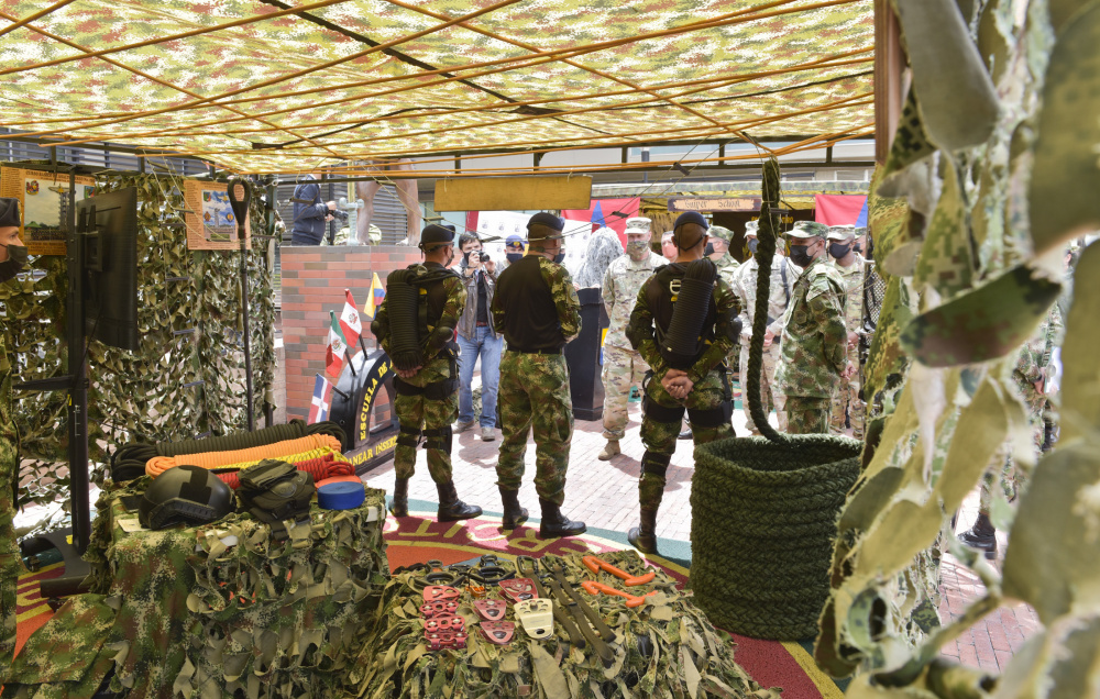 USASAC Sees Colombian Capabilities Firsthand