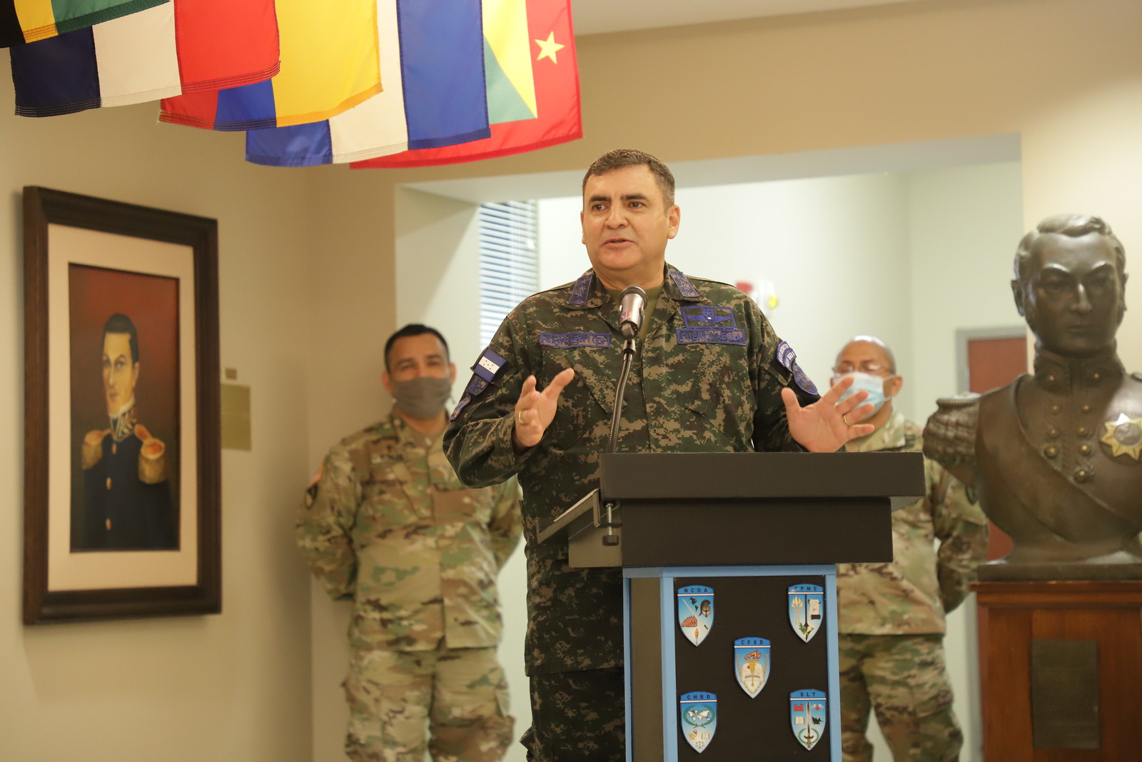 Honduran Air Force Commander Inducted into WHINSEC Hall of Fame