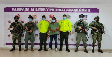 Autoridades de Colombia capturaron a alias Soldado, presunto sicario del Clan del Golfo