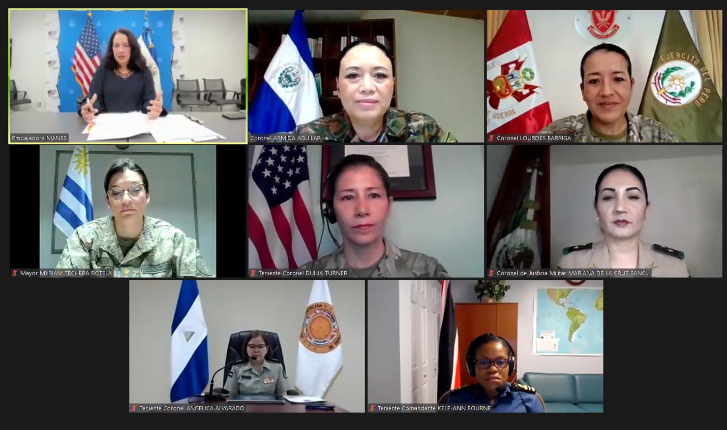 Conferência patrocinada pela JID discute o papel das mulheres nas forças armadas