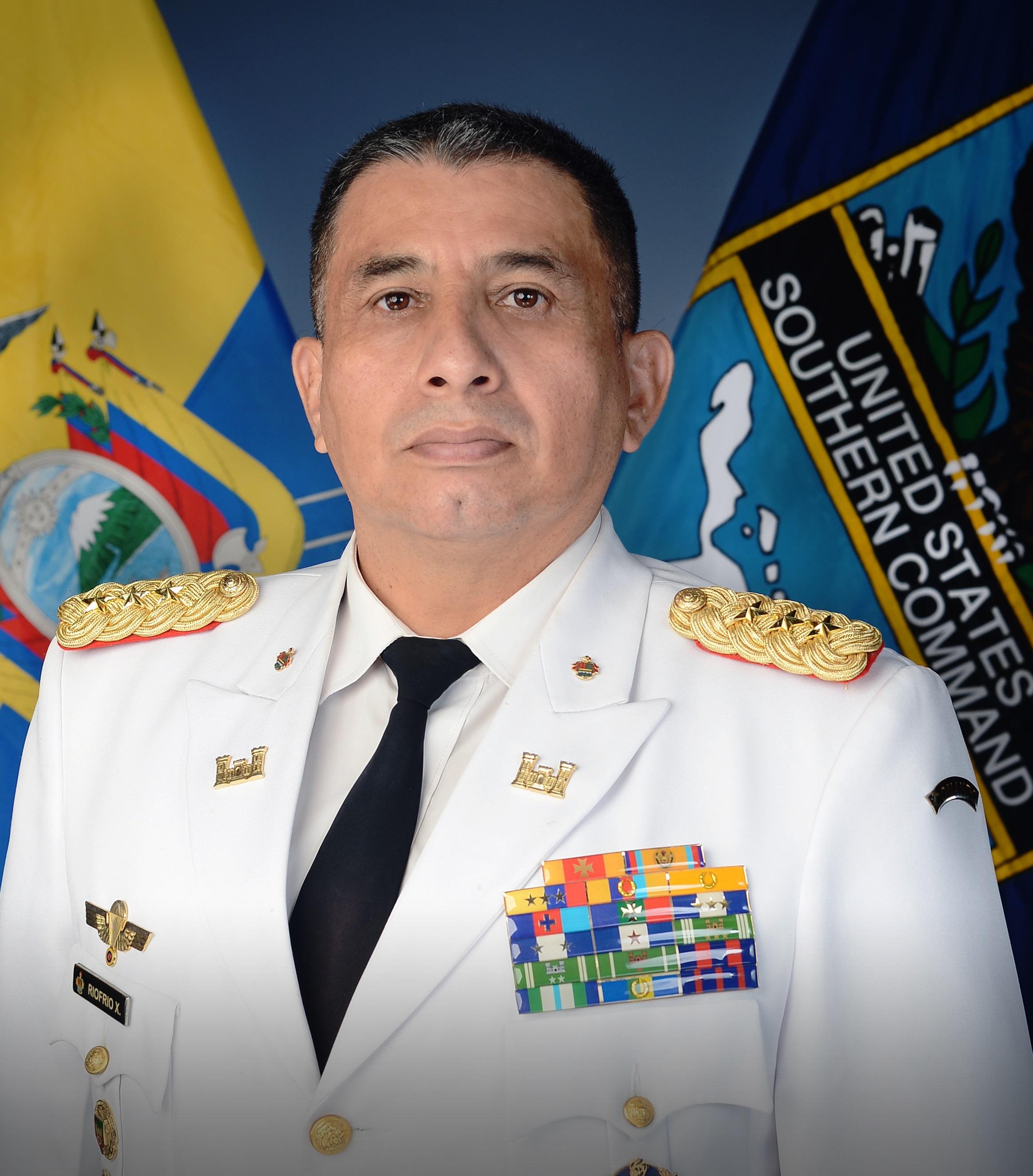 Ecuador se une a SOUTHCOM a través de su consejero militar de naciones amigas