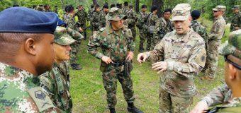 El Ejército de Colombia entrena en el JRTC y realiza diálogos de Estado Mayor con el Ejército Sur