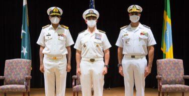 La Marina de Brasil asume el mando de la Fuerza de Tarea Combinada 151 en Bahréin