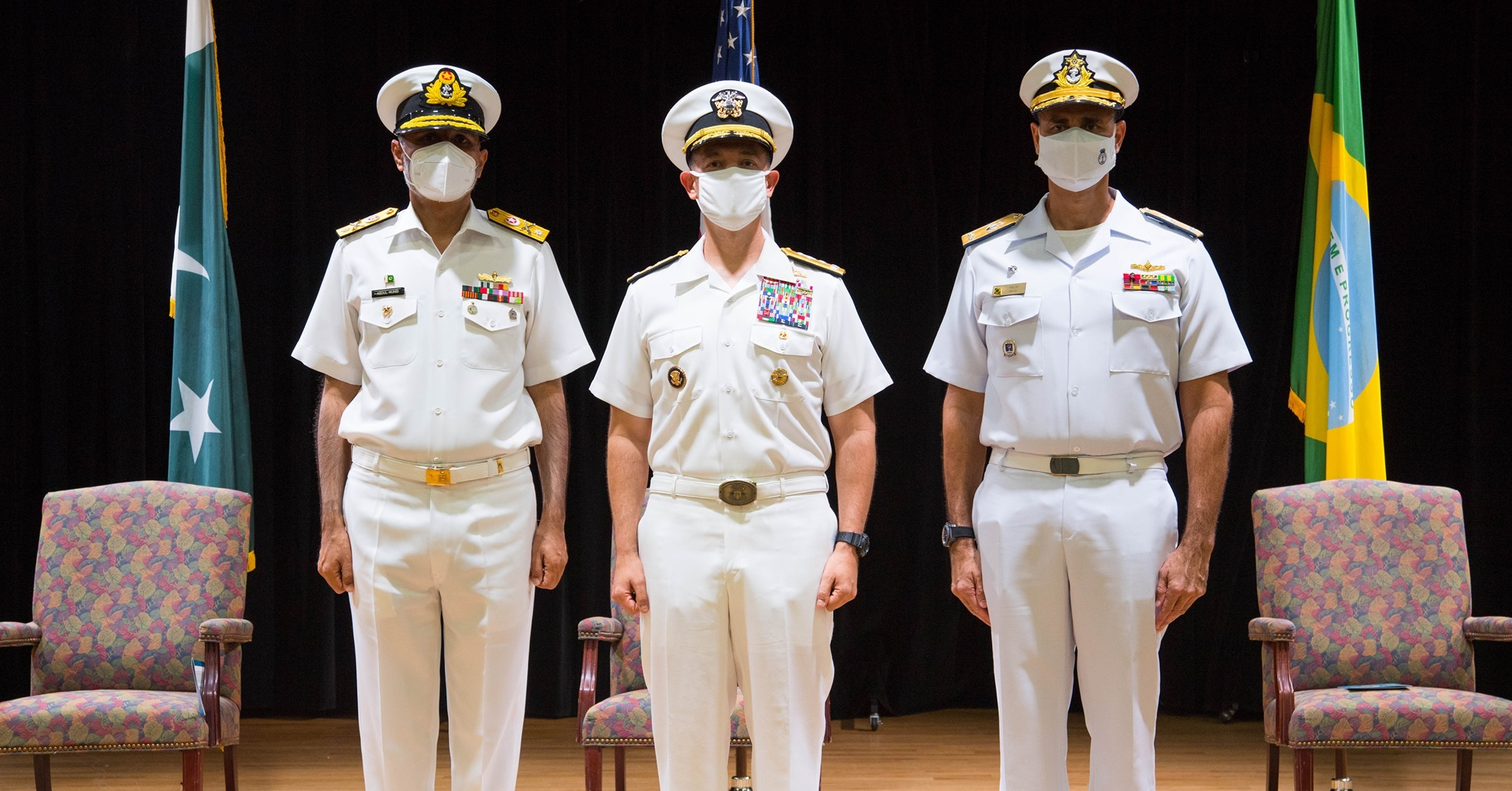 Brazilian Navy Takes Command of Combined Task Force 151 in Bahrain