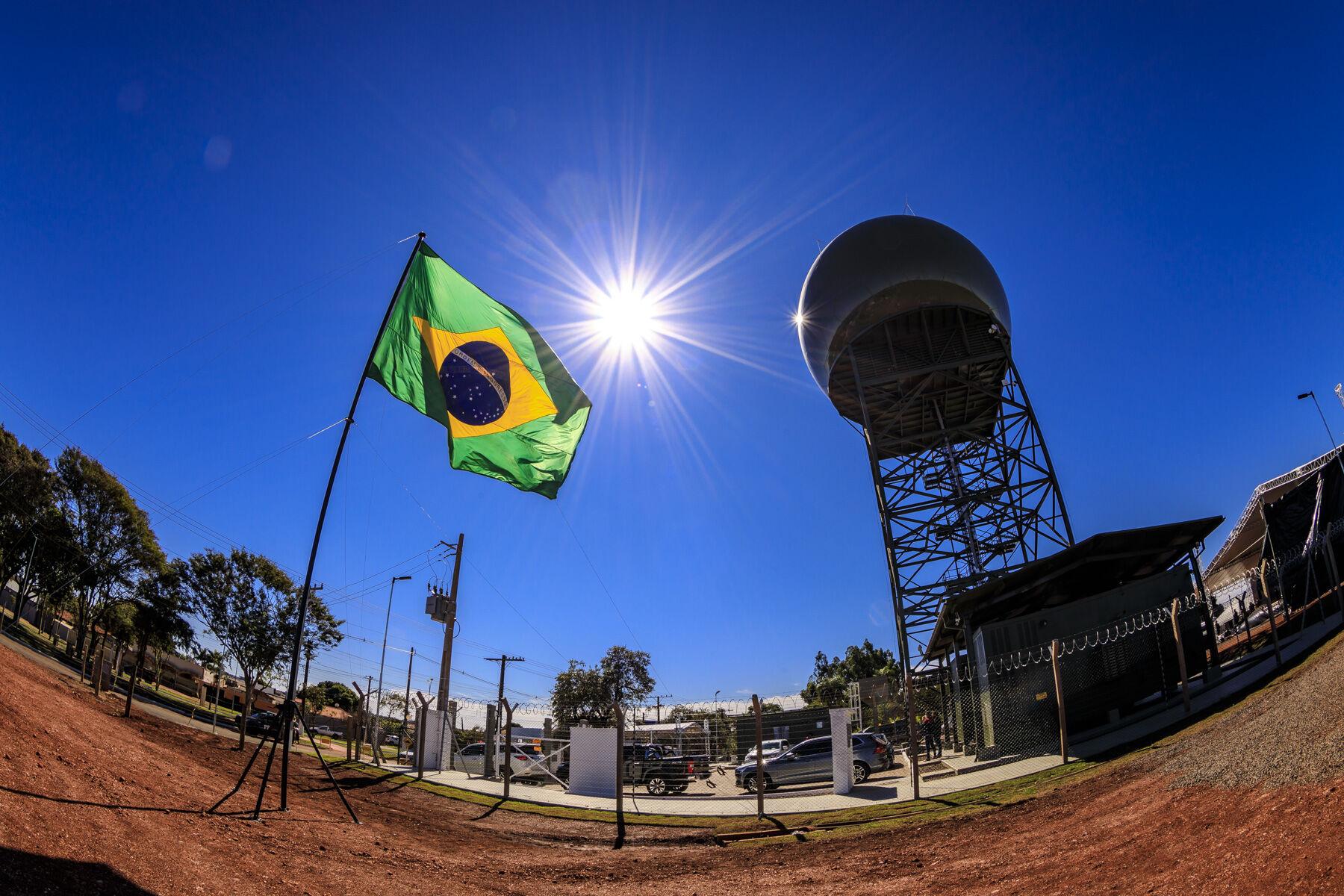 Força Aérea Brasileira inaugura estação radar e amplia o monitoramento na fronteira