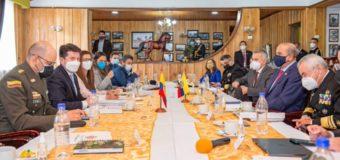 Colômbia e Equador comprometidos na luta contra o crime transnacional