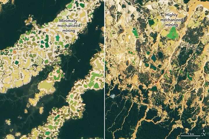 Peru, NASA, USAID Create Satellite Platform to Protect the Amazon