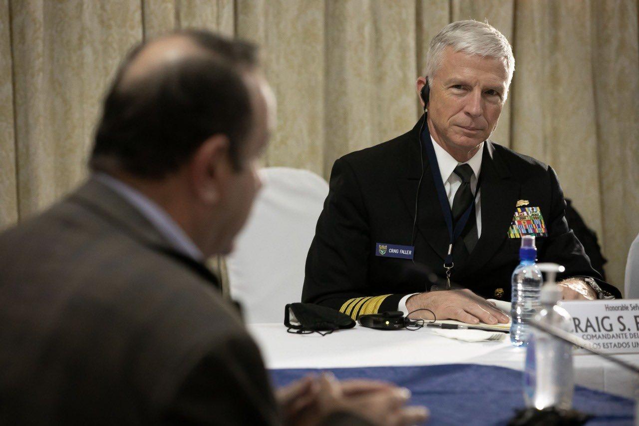 Comandante de SOUTHCOM visita Guatemala y se reúne con el presidente y líderes militares