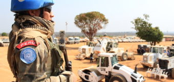Peruvian Blue Helmets Contribute to World Peace