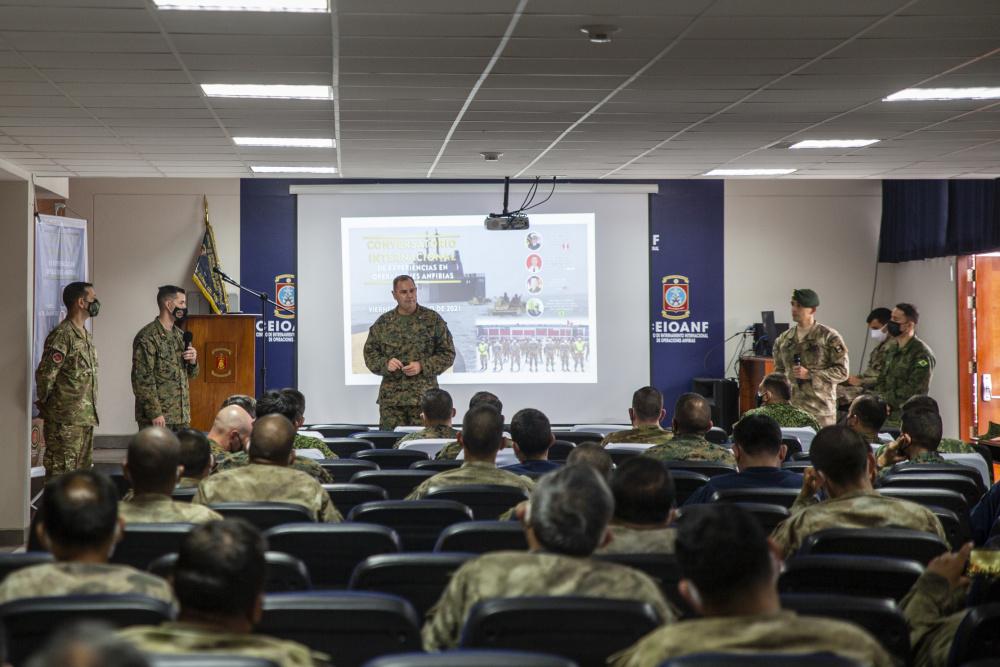 Infantería de Marina del Perú organiza conferencia multinacional de planificación anfibia
